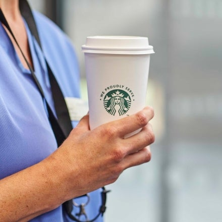 Commercial coffee machine for hospitals