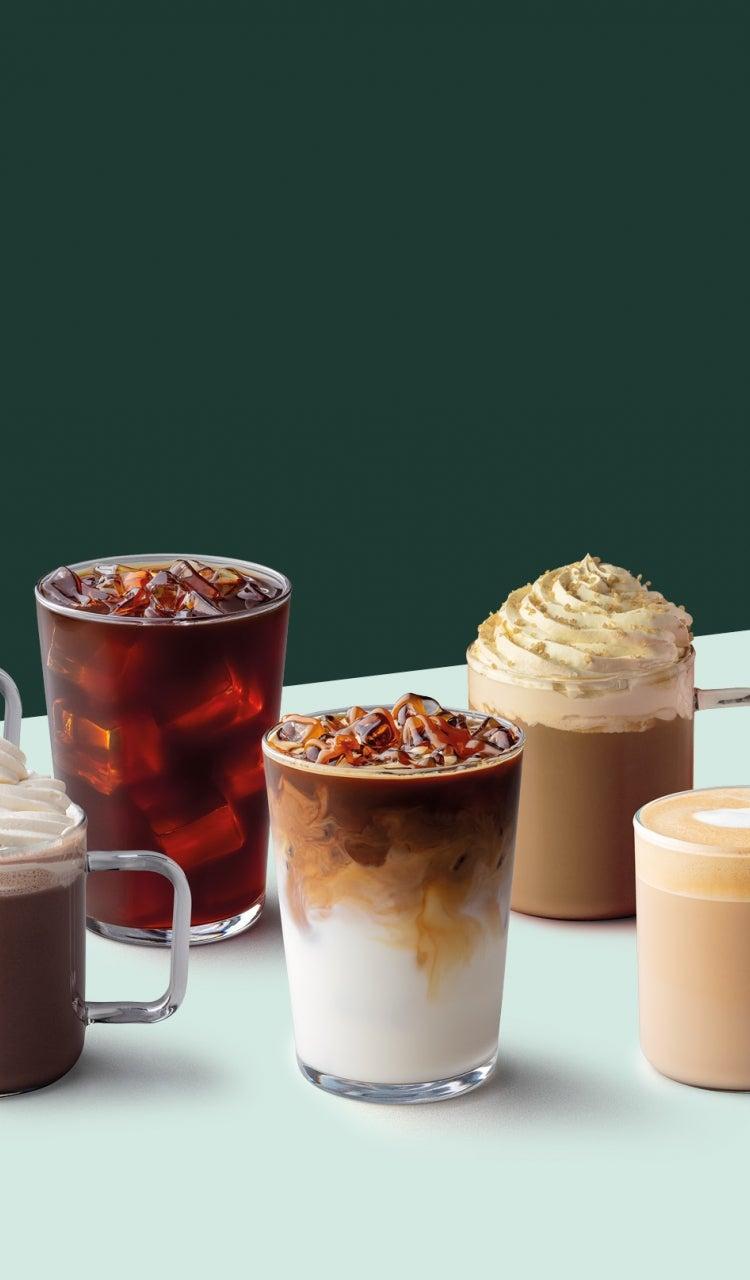 Starbucks beverages menu
